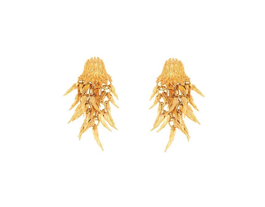 Dionysus Bear Drop Earrings
